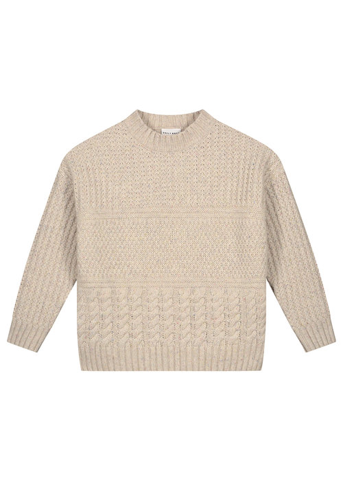 Daily Brat Daily Brat Mika Cable Knitted Sweater Ivory