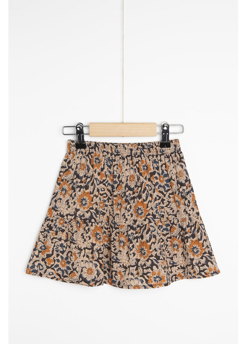 BY-BAR BY-BAR Charlie Sunflower Skirt Indigo Blue