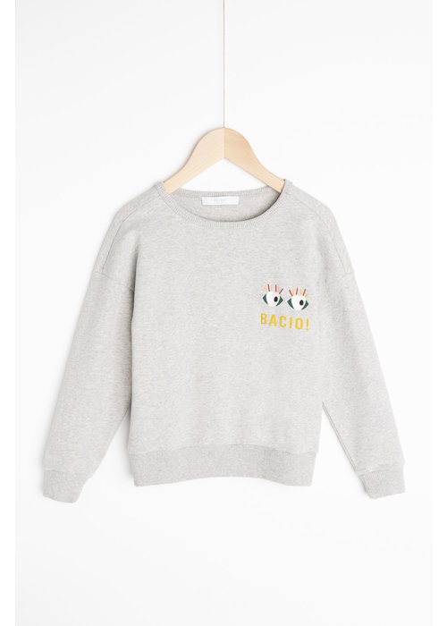 BY-BAR BY-BAR  Becky Art Sweater Grey Melee