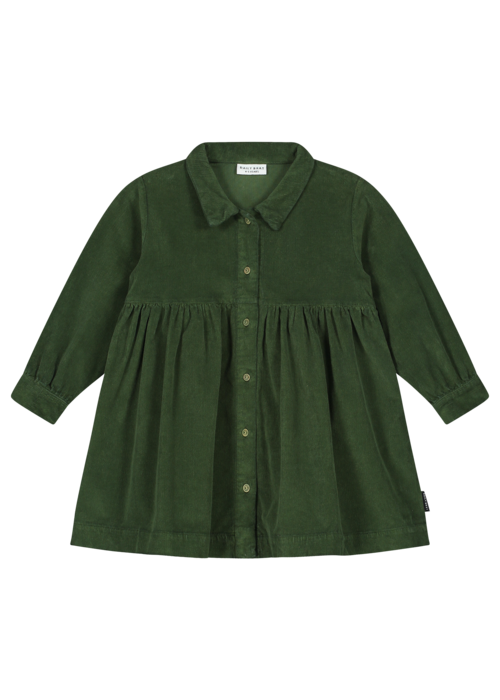 Daily Brat Daily Brat Brooke Corduroy Dress Olive Rose