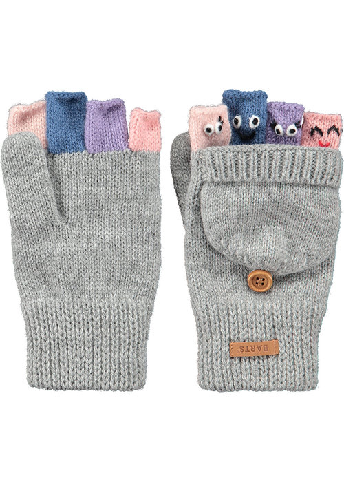Barts Barts Puppet Bumgloves Heather Grey