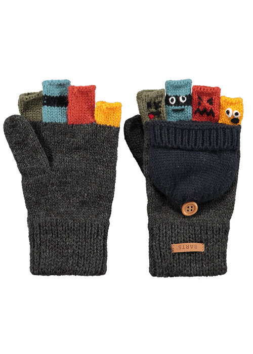 Barts Barts Puppeteer Bumgloves Dark Heather
