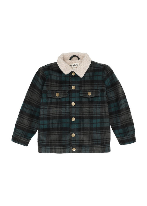 Soft Gallery Soft Gallery Bayou Jacket Forrest Check
