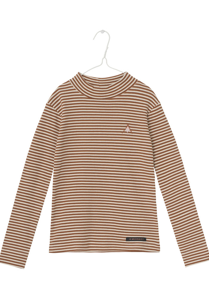 A Monday In Copenhagen Ami T-shirt Antique White Stripe