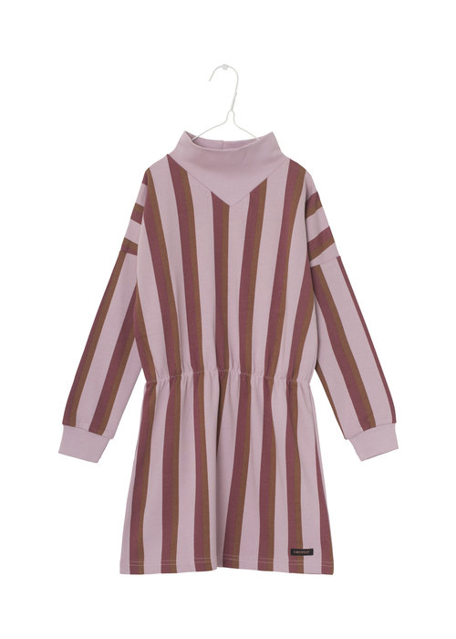 A Monday in Copenhagen A Monday In Copenhagen Anna Dress Dawn Pink Stripe