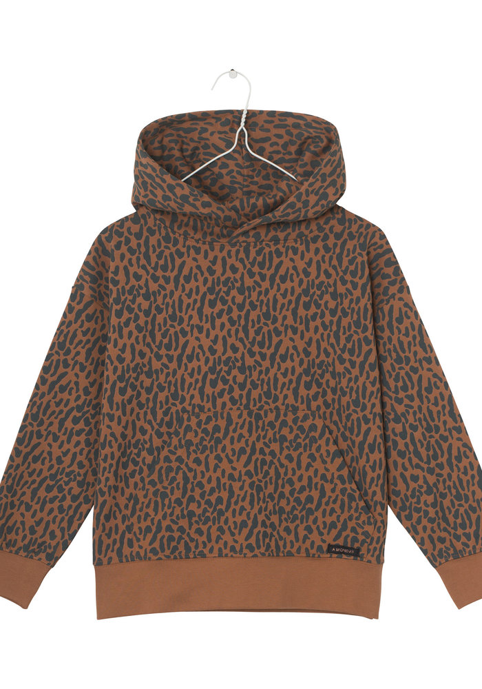 A Monday In Copenhagen Animal Sweat Freddie Hoodie Sierra