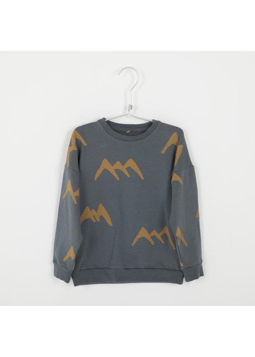 Lötiekids Lötiekids Sweatshirt Mountains Dark Grey