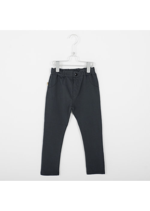 Lötiekids Lötiekids 5 Pocket Solid Vintage Black