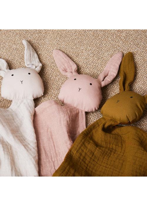Liewood Liewood Robbie Multi Muslin Cloth Rabbit Rose