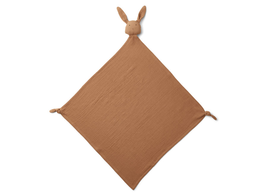 Liewood Robbie Multi Muslin Cloth RabbitTerracotta