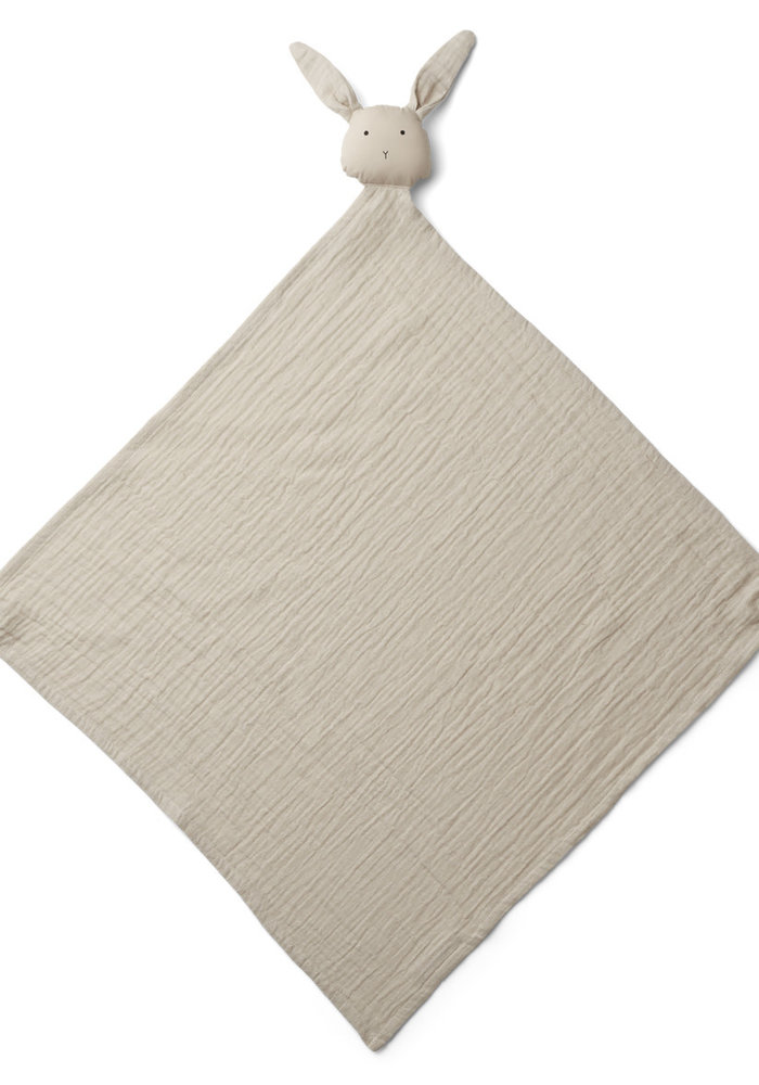 Liewood Robbie Multi Muslin Cloth Rabbit Sandy