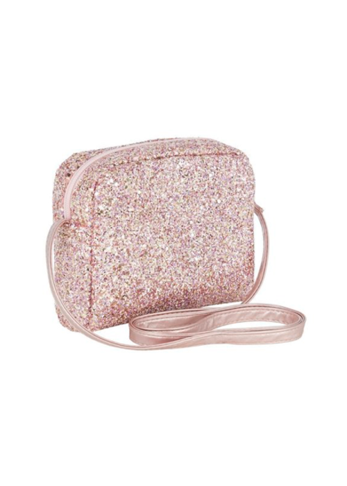 Mimi&Lula Mimi & Lula Glitter Cross Body Bag Pink