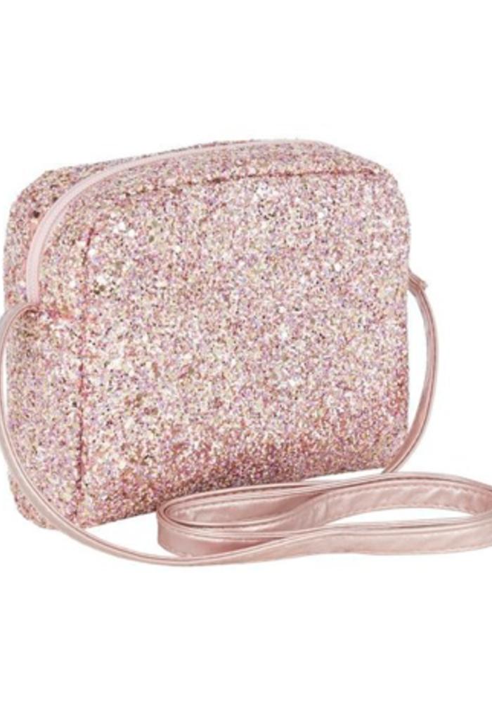 Mimi & Lula Glitter Cross Body Bag Pink