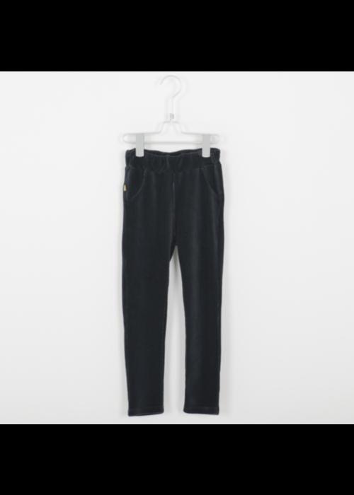 Lötiekids Lötiekids Jegging Corduroy Solid Vintage Black