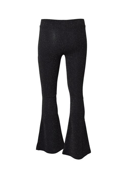 HOUND HOUND Glitter Flare Pants Black