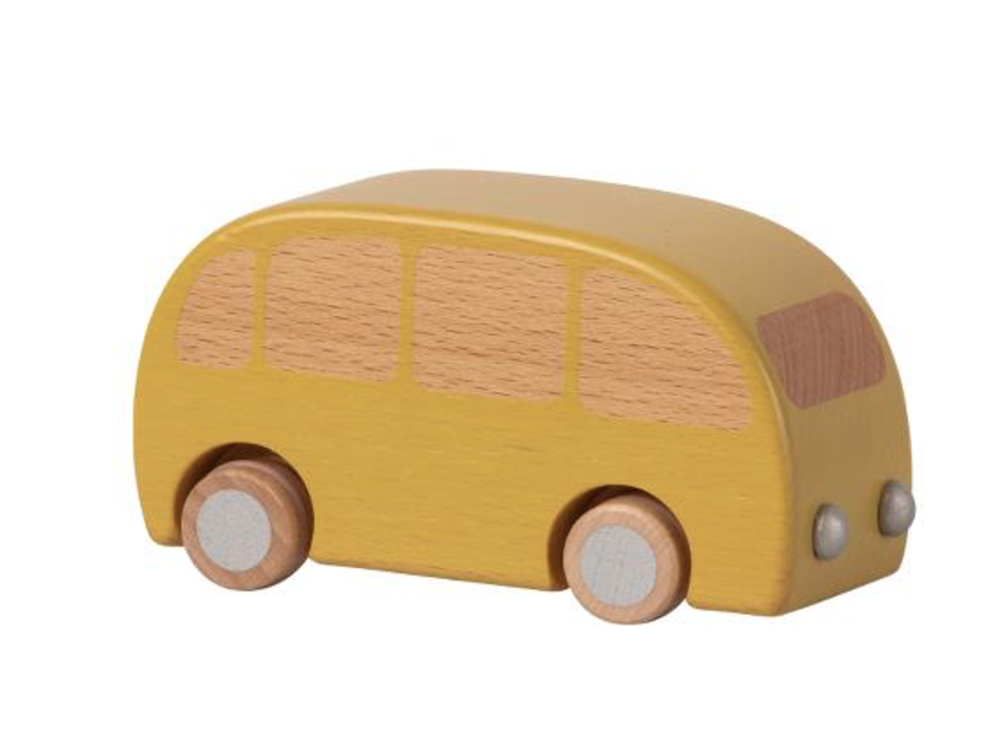 Maileg Wooden Bus Yellow