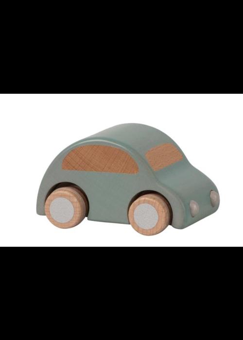 Maileg Maileg Wooden Car Light Blue