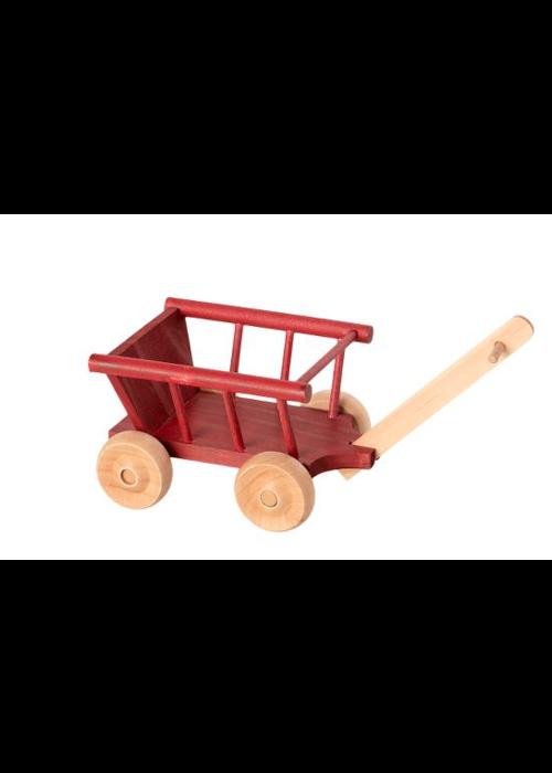 Maileg Maileg Wagon Micro Dusty Red