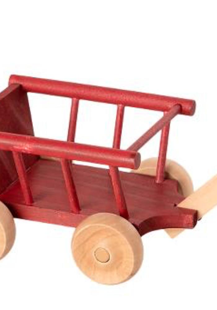 Maileg Wagon Micro Dusty Red