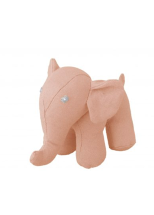 Global Affairs Global Affairs Canvas Elephant  Rattle Pink