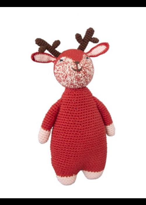 Global Affairs Global Affairs Crochet Doll Woodland Deer