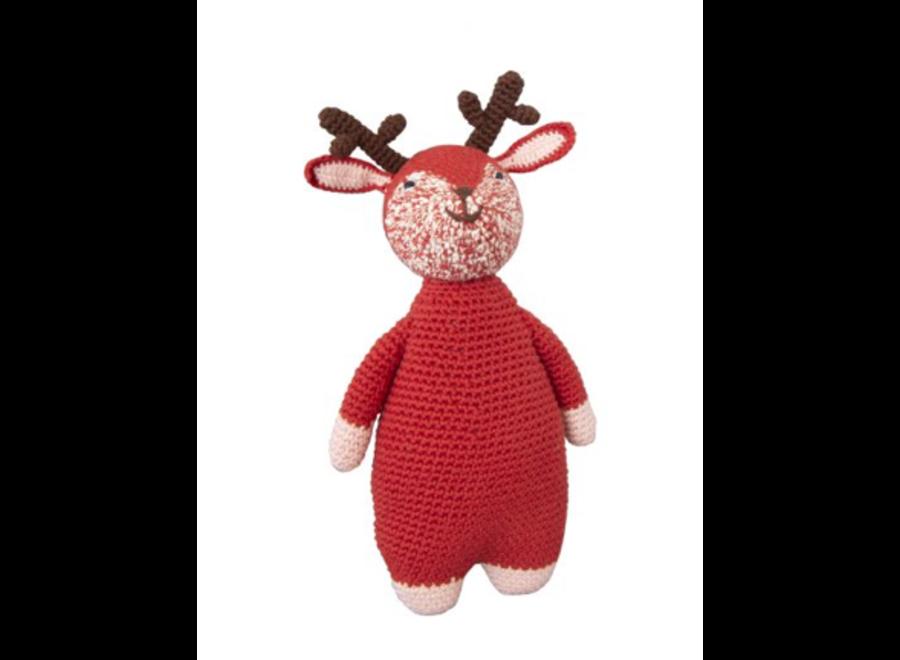 Global Affairs Crochet Doll Woodland Deer