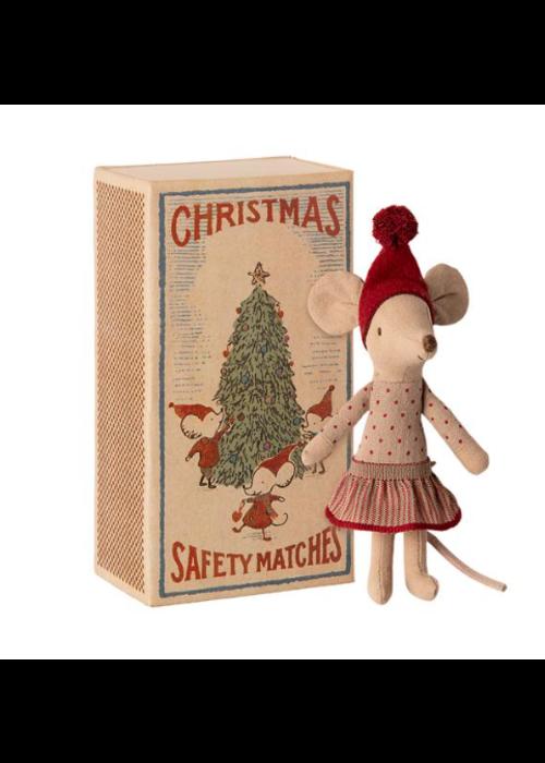 Maileg Maileg Christmas Mouse in Box Big Sister