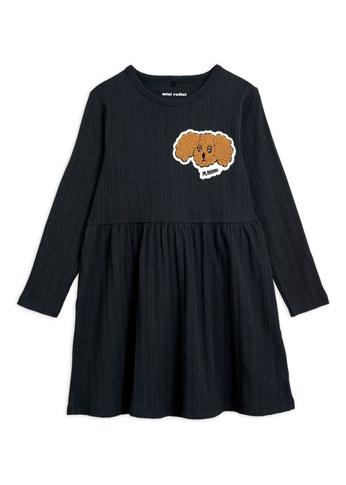 Mini Rodini Mini Rodini Fluffy Dog Patch LS Dress