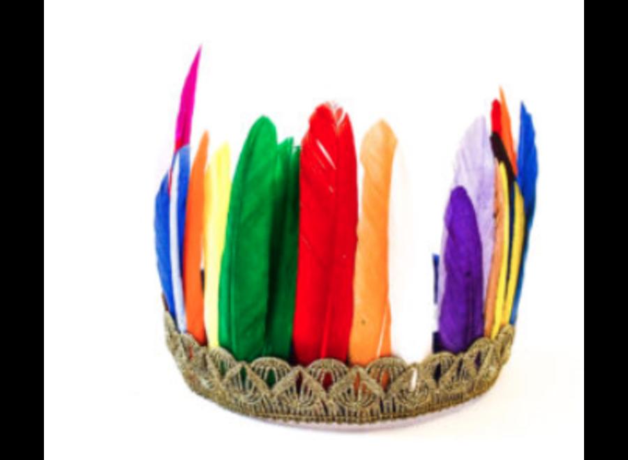 Manjewell Feather Crown Multi