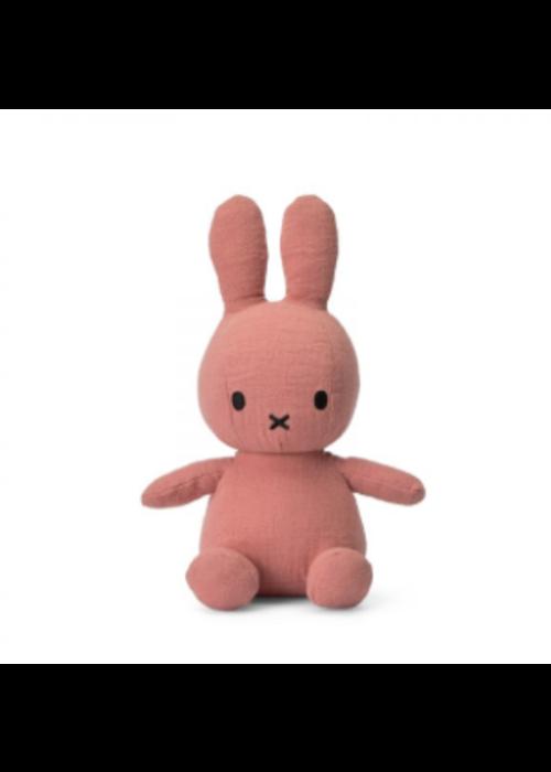 Nijntje  Sitting Mousseline Pink 23 cm