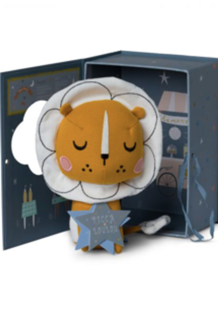 Picca Loulou Lion in gift box 18 cm