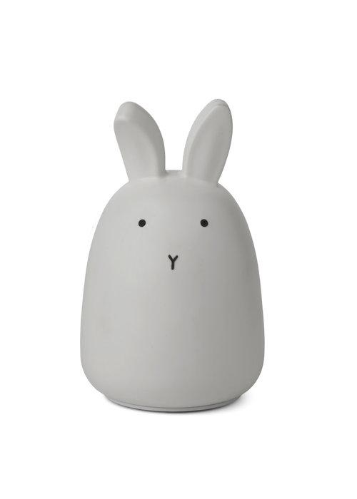 Liewood Liewood Winston Night Light Rabbit Dumbo Grey