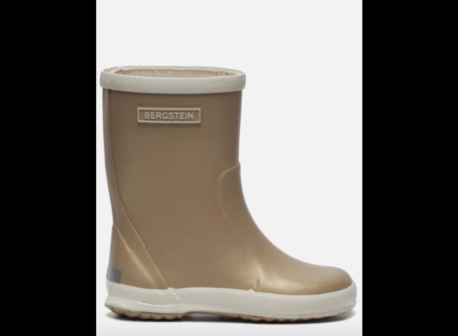 Bergstein Rainboots Glam Gold