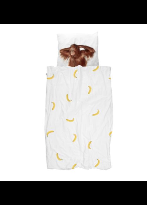 SNURK SNURK dekbedovertrek  Banana Moon 1-persoons 140x90cm