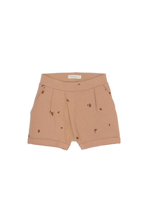 Phil&Phae Phil & Phae Fold-over shorts Stones Warm Biscuit