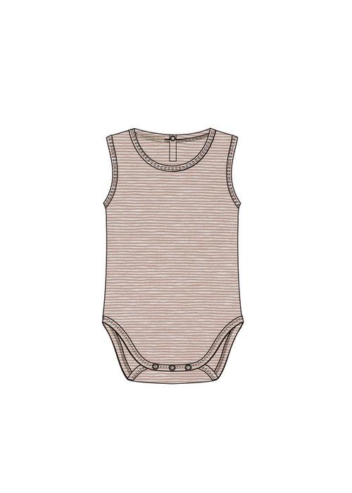 Phil&Phae Phil & Phae Sleeveless Body Stripes Dusty Nude Stripe