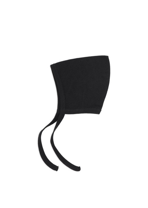 Phil&Phae Phil & Phae Pointed Bonnet Pointelle Charcoal