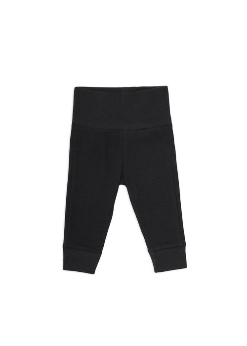 Phil&Phae Phil & Phae Leggings Pointelle Charcoal