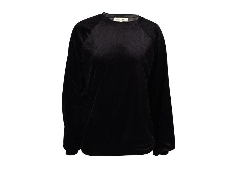 Cost Bart Cozy Pullover Velvet Black