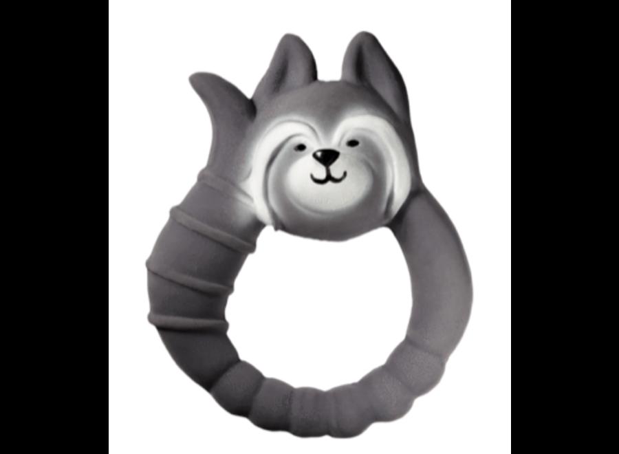 Natruba Teether Raccoon Grey