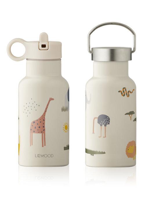 Liewood Liewood Anker Water Bottle - Safari Sandy Mix