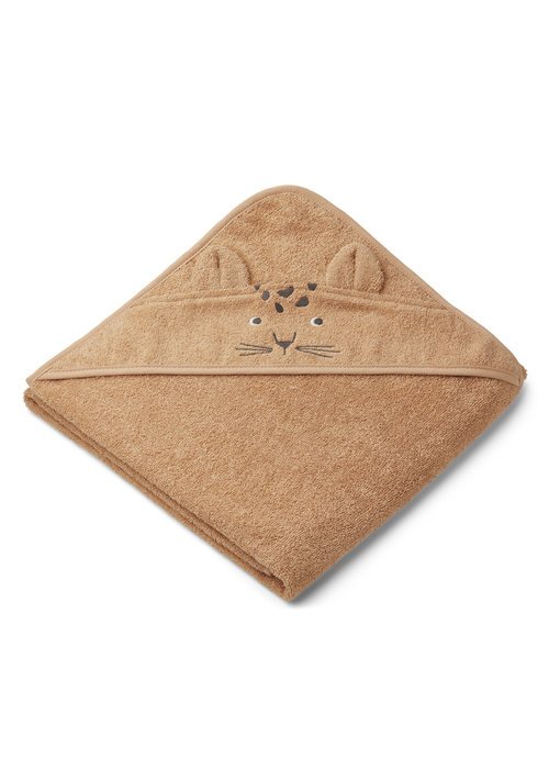Liewood Liewood Augusta Hooded Towel - Leopard Apricot