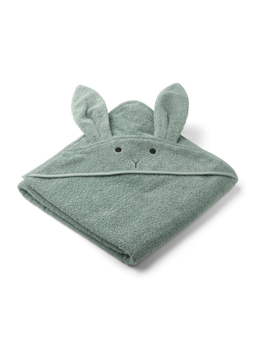 Liewood Liewood Augusta Hooded Towel - Rabbit  Peppermint