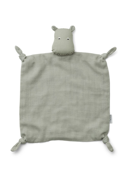 Liewood Liewood Agnete Cuddle Cloth Hippo Dove Blue