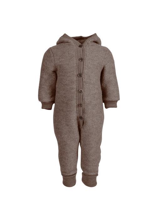 Mikk-Line Mikk-Line Wool Baby Suit with hood Melange Denver