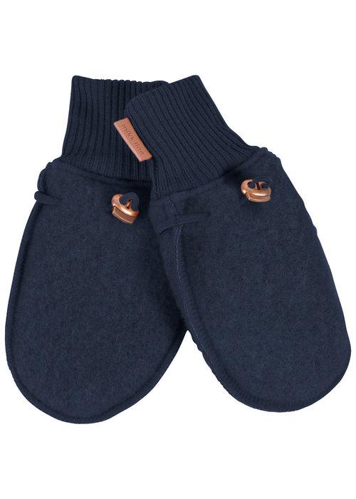 Mikk-Line Mikk-Line Wool Mittens Blue Nights