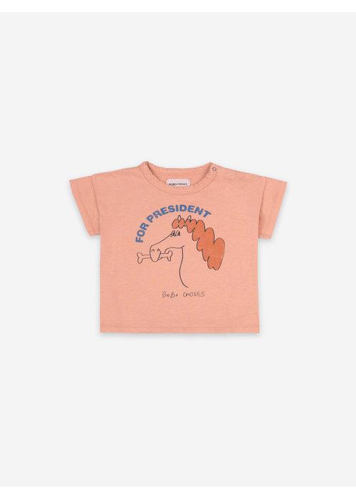 Bobo Choses Bobo Choses Fetching Horse Short Sleeve T-shirt