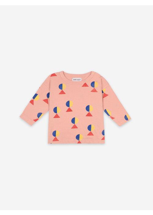 Bobo Choses Bobo Choses Geometric All Over Long Sleeve T-shirt