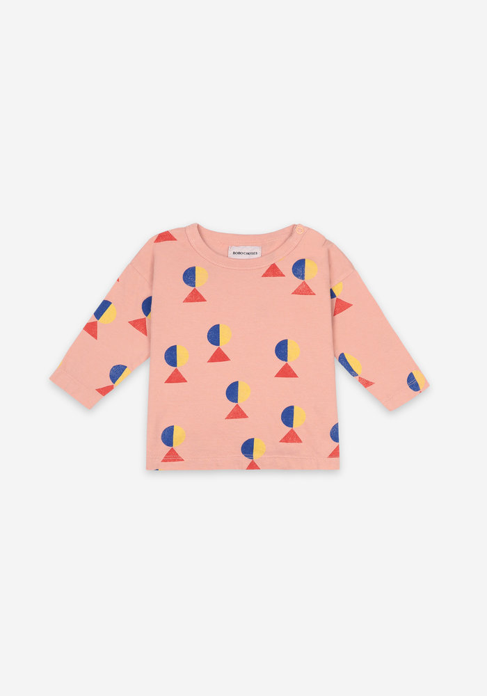 Bobo Choses Geometric All Over Long Sleeve T-shirt