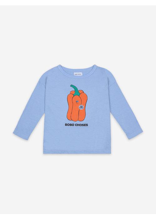 Bobo Choses Bobo Choses Vote for Pepper Long Sleeve T-Shirt
